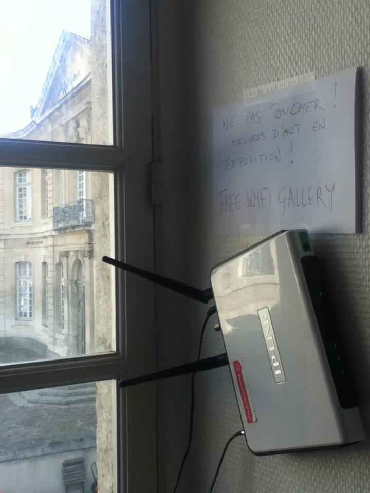 Serge Hoffman Free Wifi Gallery